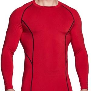 tsla cold weather compression shirts