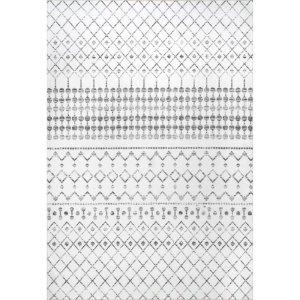 union rustic washable gray area rug