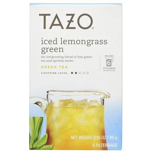 best tea tazo iced lemongrass