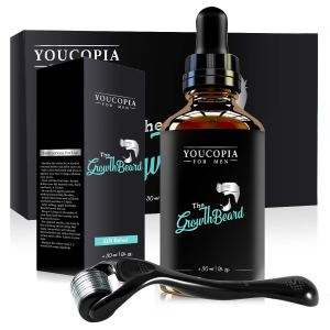 YouCopia Derma Roller for Beard Growth