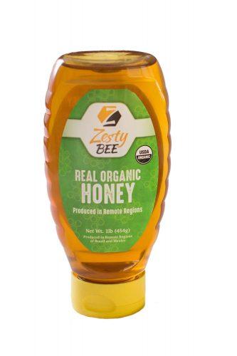 Zesty Bee Organic Honey
