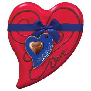 heart box chocolates dove - best chocolate gifts for Valentine's Day
