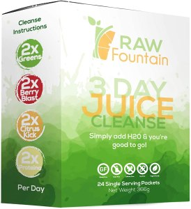 juice cleanse packets raw