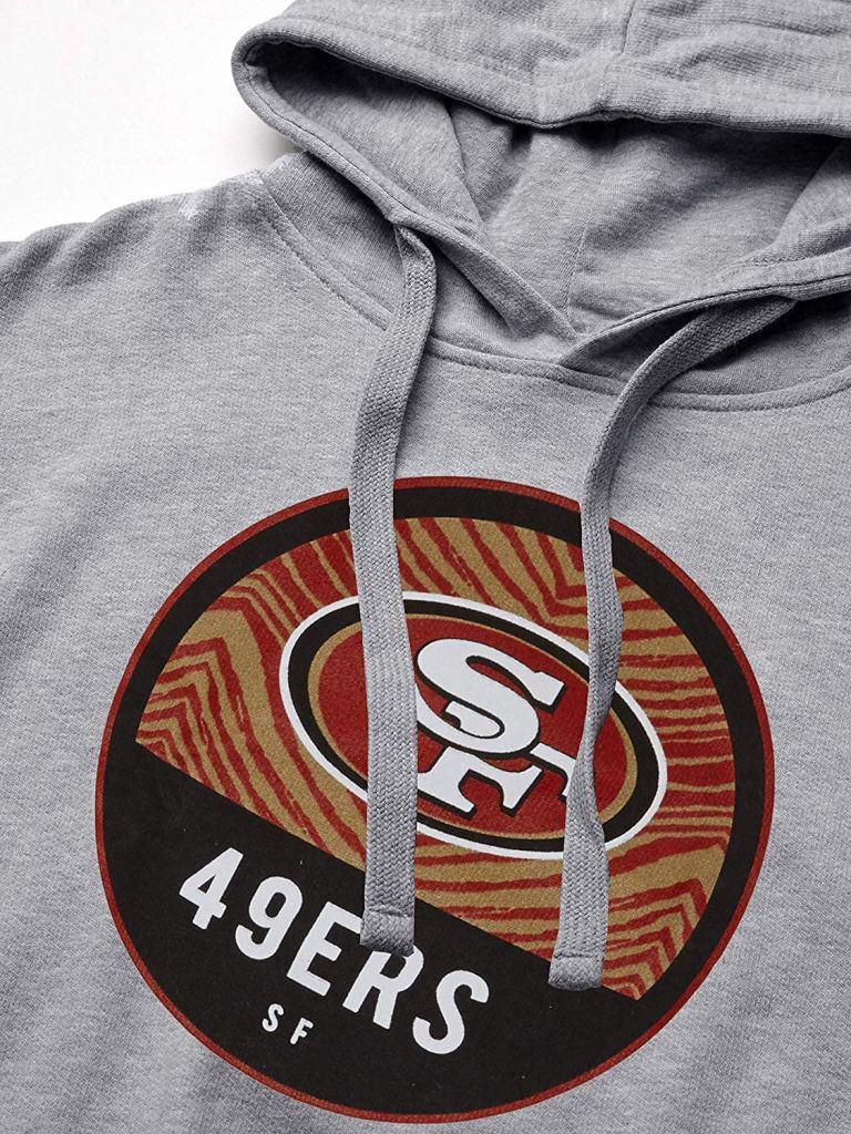 zubaz 49ers hoodie