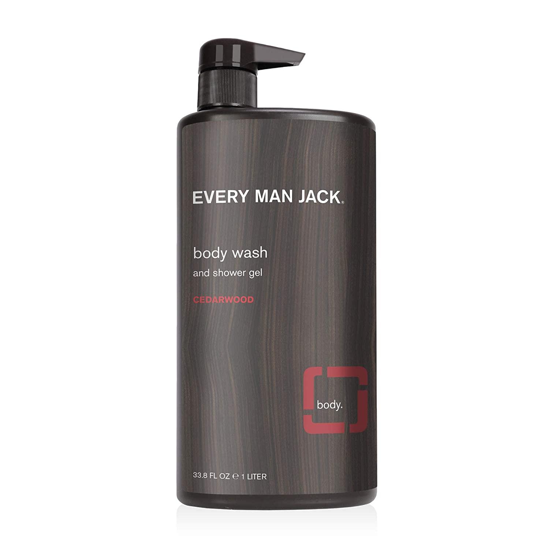 Every Man Jack Men's Body Wash, Cedarwood