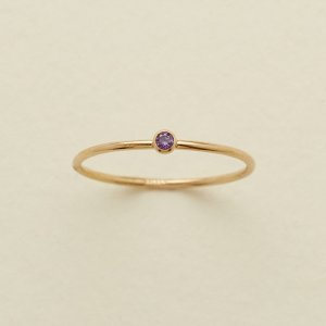 non engagement rings february birthstone ring