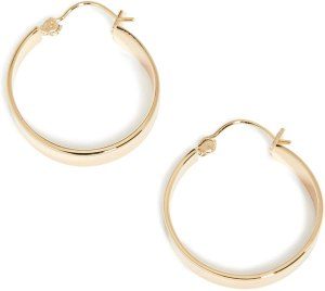 Gorjana Women's Jax Small Hoops, best gifts for women on amazon