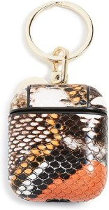 Iphoria Wild Snake Print Airpod Case, best gifts for women on amazon