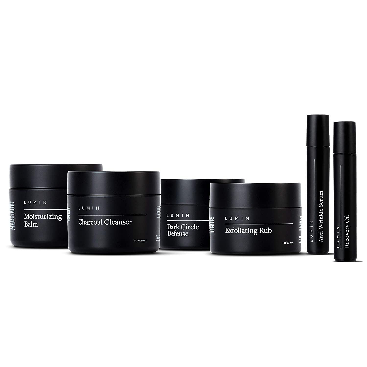 Lumin Complete Skincare Gift Set for Men; men's grooming products