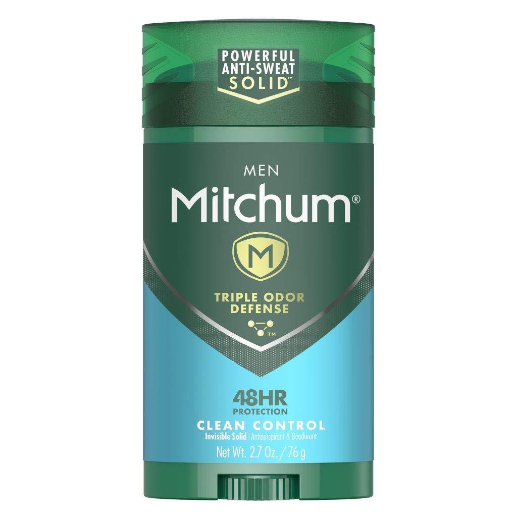 Mitchum Antiperspirant Deodorant Stick; men's grooming products