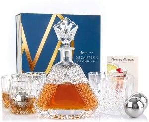 whiskey decanters nou living store