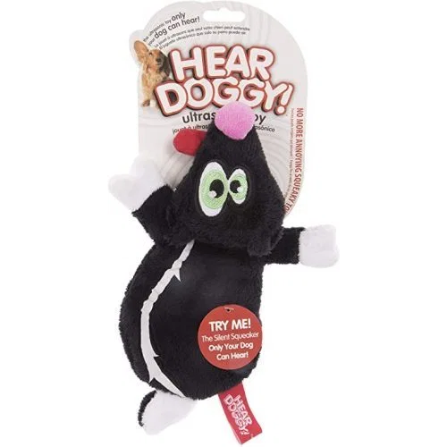 Hear Doggy! Ultrasonic Squeaker Toy