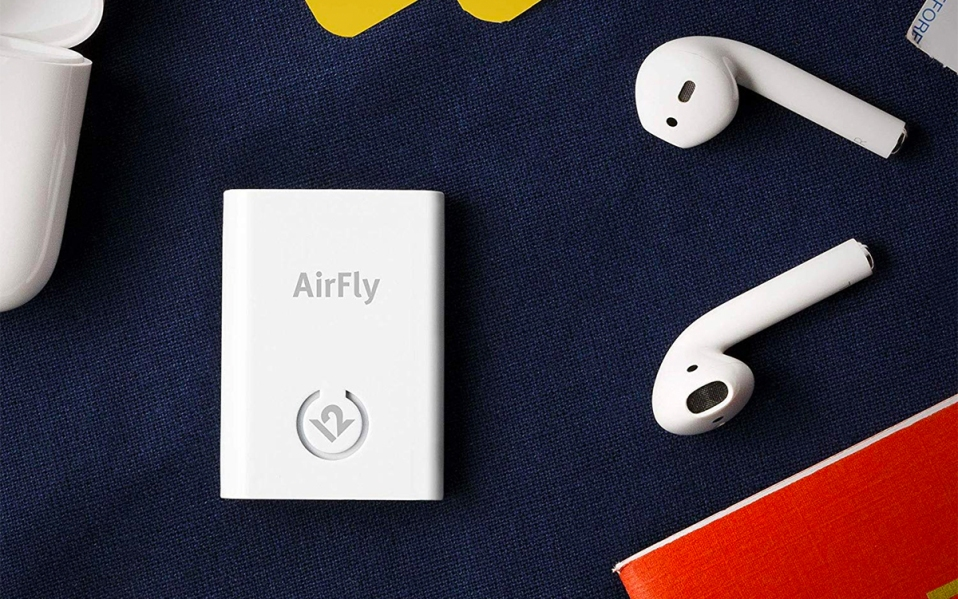 airfly wireless earbuds transmitter