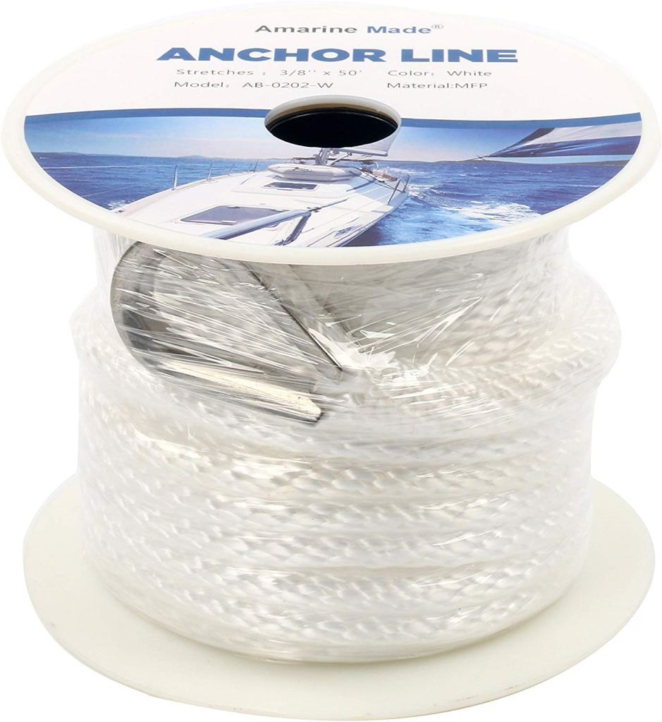 Amarine Made Braided Nylon Anchor Rope