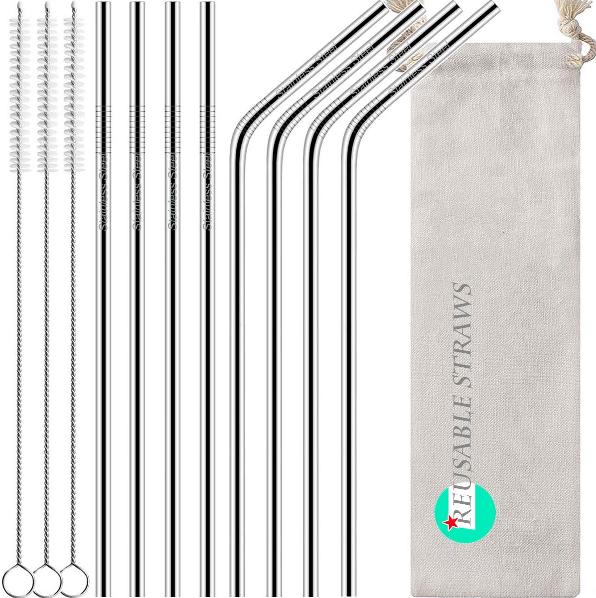 Antonki Reusable Straws