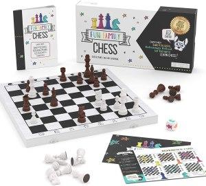 brain blox chess set for beginners, best chess set
