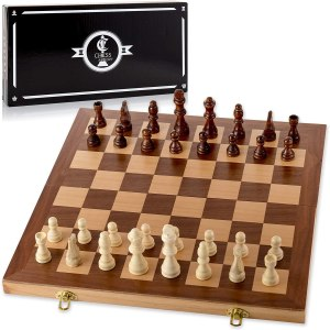 chess armory wooden chess set, best chess set