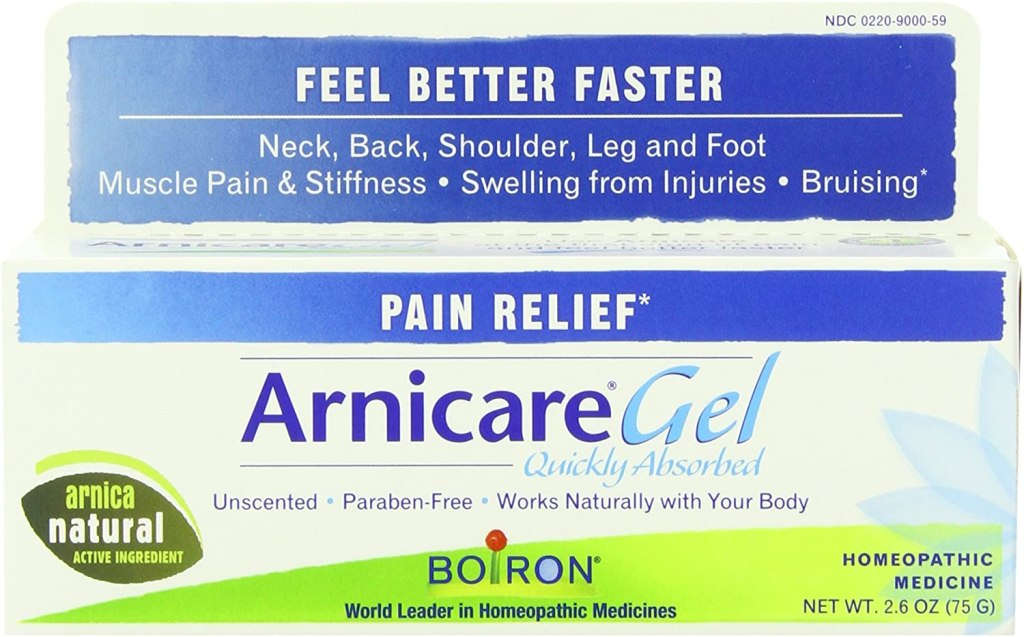 natural muscle relaxers boiron arnicare