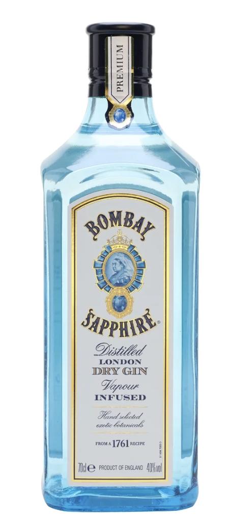 bombay sapphire best gin