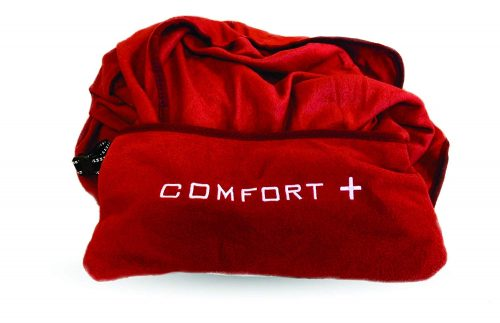 Comfort Plus 3-in-1 Microfleece Travel Blanket