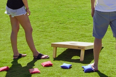 best tailgating games cornhole