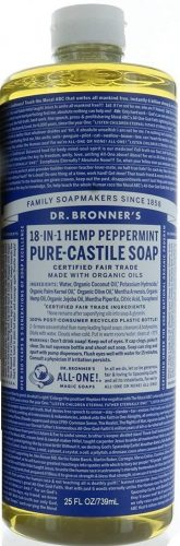 Dr. Bronner Peppermint Body Wash