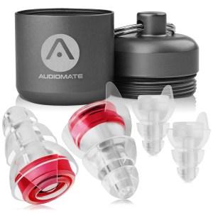 Audiomate High-Fidelity Earplugs audiomate