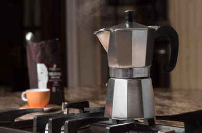 forget the fancy espresso machine, you can actually make your favorite brew on the stove