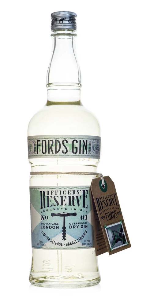 Fords Officers Reserve best gin