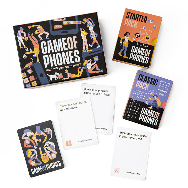Game of Phones cards