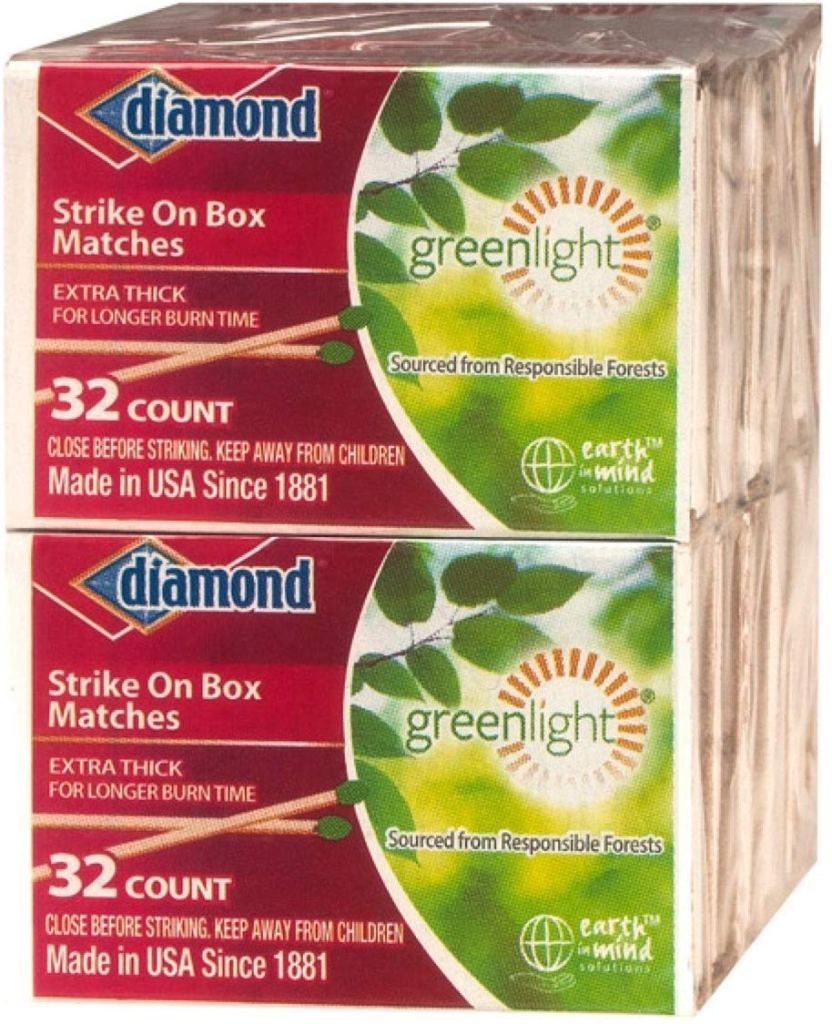 GreenLight Diamond Strike on Box Matches