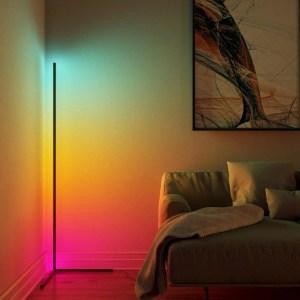 Minimal LED Corner Lamp
