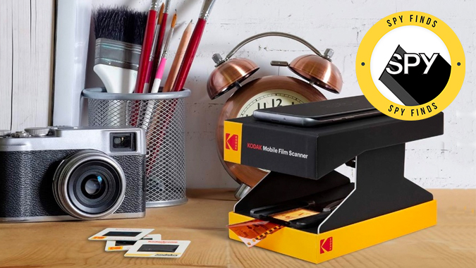 Kodak's Mobile Film Scanner Lets You