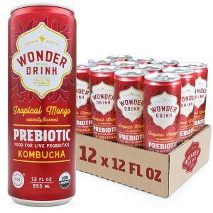 best kombucha brands wonder drink