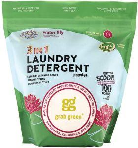 best laundry detergent grab green