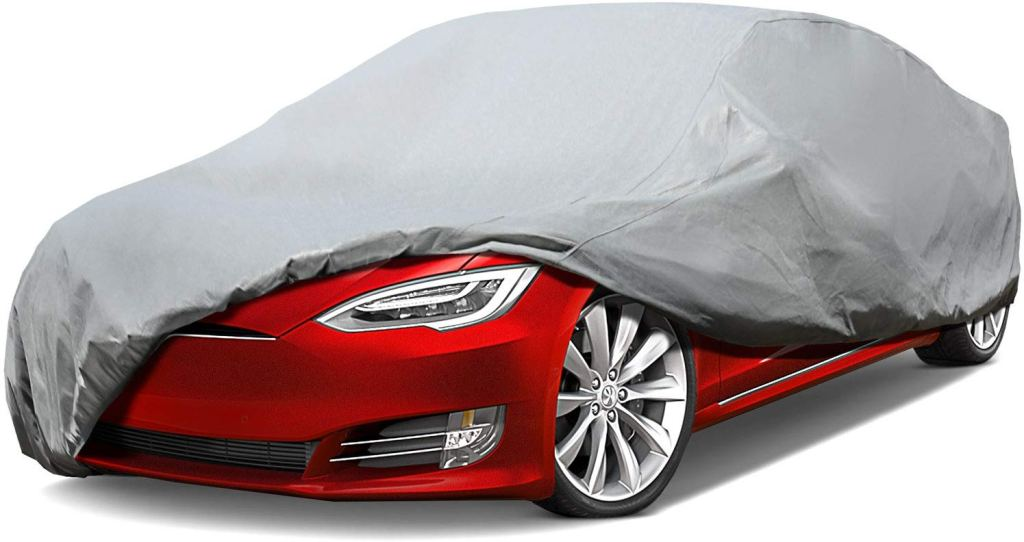 Leader Accessories Platinum Guard Gray 7 Layer Super Soft Car Cover