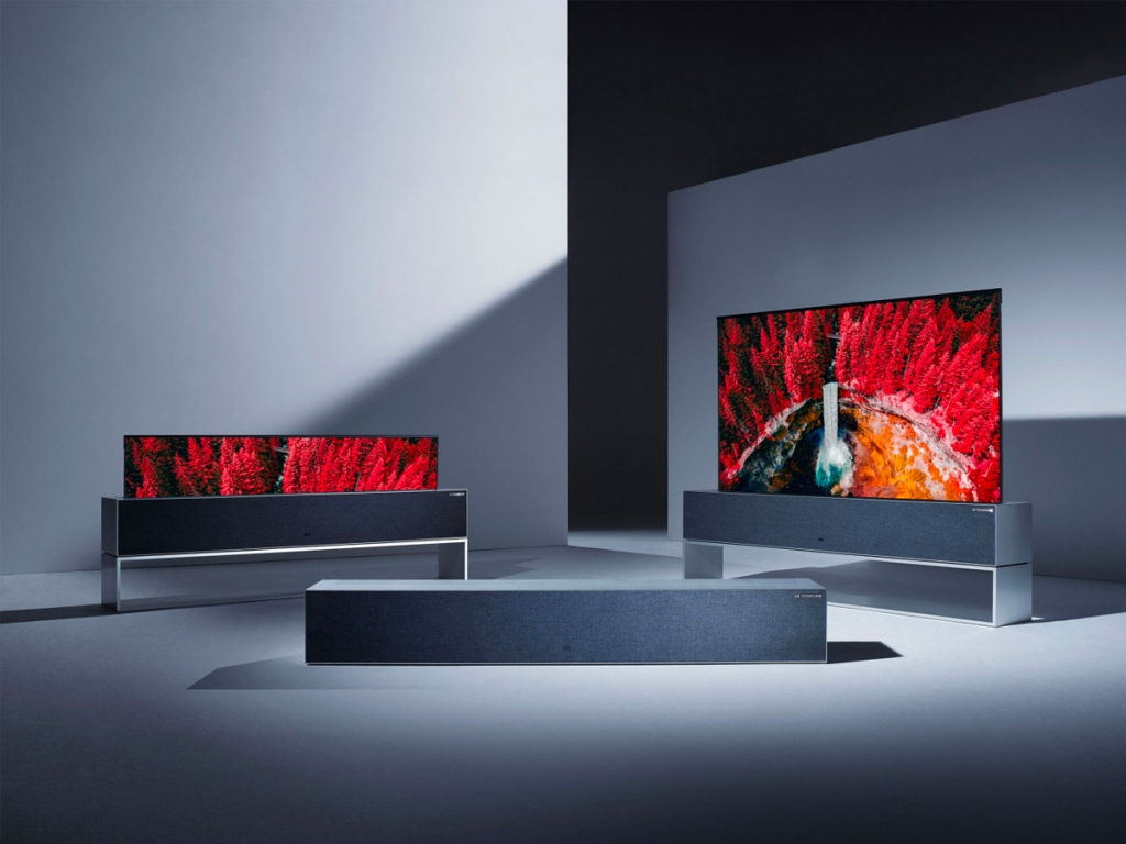 LG rolling tv ces 2020