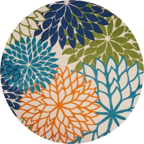 Nourison Aloha Round Outdoor Rug, best outdoor rugs