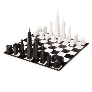 nyc skyline chess, best chess set