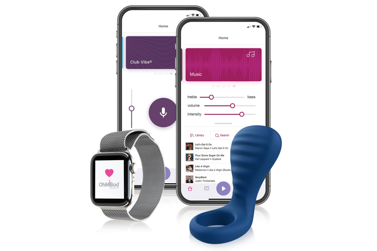 OhMiBod Nex 3 Smart Vibrating Couples Ring - Best of CES 2020