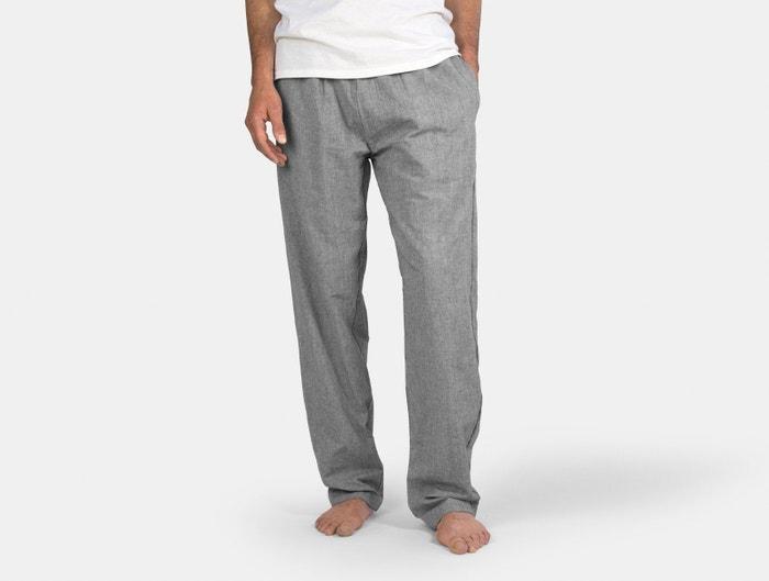 Coyuchi Organic Crinkled Pajama Pant; best men's pajamas