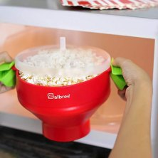 healthy snacking anytime is easy with one of these popcorn makers