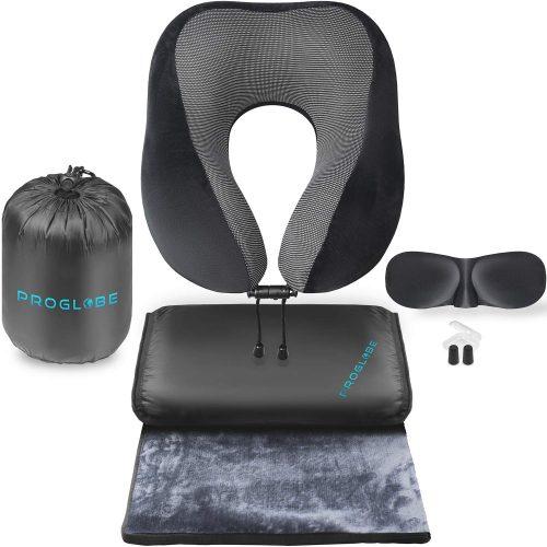 Proglobe Travel Blanket Set