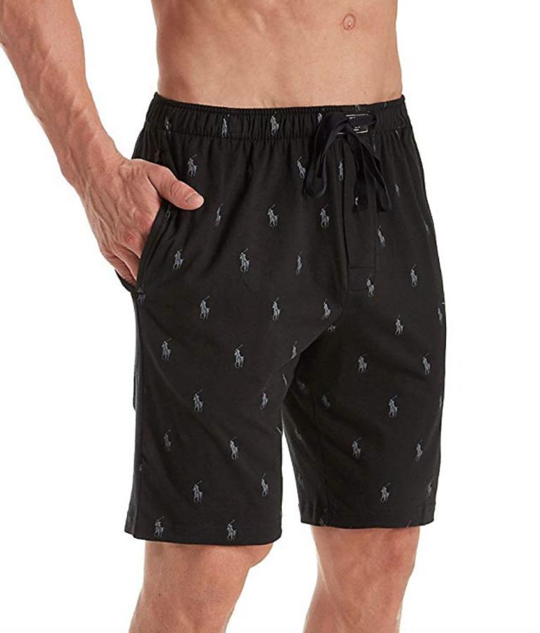 Polo Ralph Lauren Knit Sleep Shorts; best men's pajamas