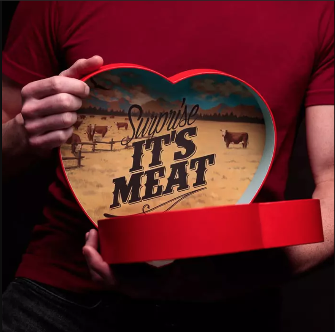 Jerky Heart, valentine's day gifts for him