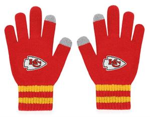red gloves kansas chiefs