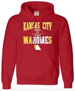 Kansas City hoodie mahomes