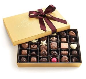 Godiva chocolate box - wife gift ideas