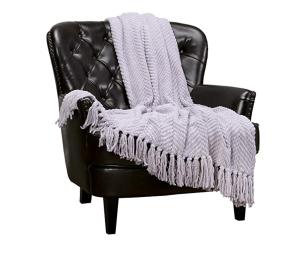 Stylish throw blanket