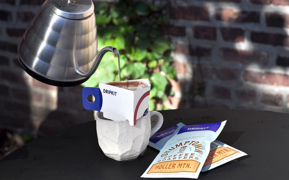 dripkit instant pour over coffee kit